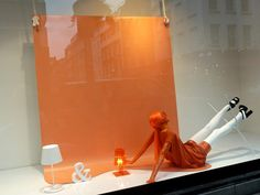 Selfridges spring windows visual merchandising