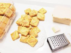 Cheese Almond Cookies