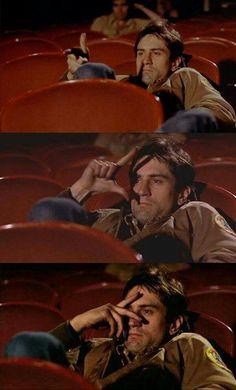 Taxi Driver Movie Theater Scene