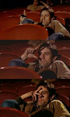Taxi Driver Movie Theater Scene