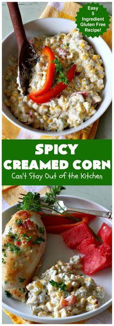 Spicy Creamed Corn