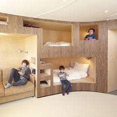 L'agence H2o Architectes nous fait découvrir son projet de réaménagement d'un appartement aux Menuires.