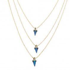 Lionette Avish Necklace Blue by @elenarudaya