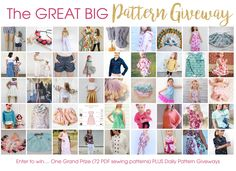 The Great Big Pattern Giveaway!