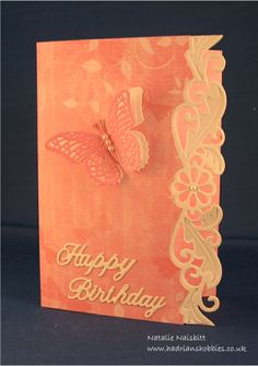 Creative Expressions Sue Wilson Gemini Phoenix die, Spellbinders butterfly, Sentimentally Yours papers