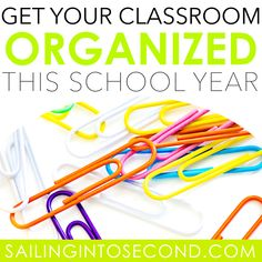Get Your Classroom Organized this School Year! - Sailing into Second Classroom Jobs Board, Classroom Procedures, Classroom Labels, Classroom Design, Classroom Decor, Back To School Essentials, Back To School Hacks, School Ideas, High School