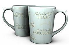Jehovah names, Psalm 29:11 mug -- Christianbook.com