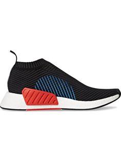 ADIDAS ORIGINALS Black NMD CS2 Primeknit sneakers. #adidasoriginals #shoes #