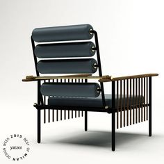 BEST OF MILAN DESIGN WEEK 2015 | http://www.yatzer.com/best-of-milan-design-week-2015 Paume Couch by David/Nicolas for Nilufar gallery.