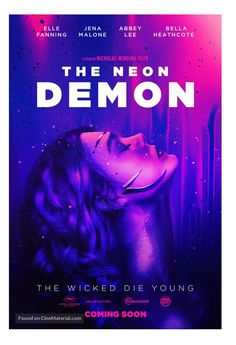 Poster concept art for The Neon Demon, the newest film by director Nicolas Winding Refn. The Neon Demon, Movie Poster Art, Film Posters, Crush Movie, Demon Aesthetic, Demon Art, Keys Art, Hippie Art, Horror Movies