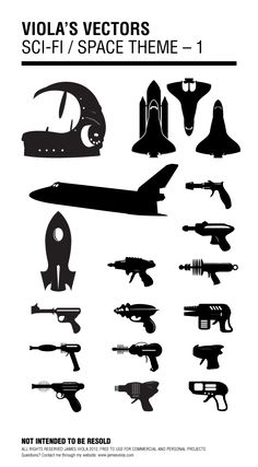 Sci-Fi / Space Vector Pack, Free Download « A GRAPHIC DESIGN BLOG
