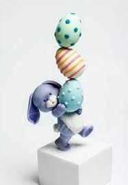 Bildergebnis für gravity defying easter bunny cake