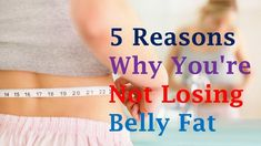 5 Reasons Why You're Not Losing Belly Fat Getting rid of your belly bulge is important for more than just vanity's sake. Excess abdominal fat—particularly vi. Abdominal Fat, Lose Belly Fat, Rid, Healthy Living, Lost, Belly Fat Loss, Healthy Life, Reduce Belly Fat, Healthy Lifestyle