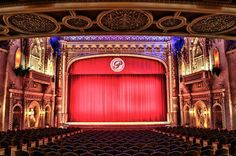 """The Paramount Theater in Anderson, Indiana - We have been here! We saw the play """"the lion, the witch, and the wardrobe"""" it is a beautiful theater! Anderson Indiana, Paramount Theater, Madison County, Our Town, Summer Bucket Lists, Hopes And Dreams, I Want To Travel, Concert Hall, Old Movies"""