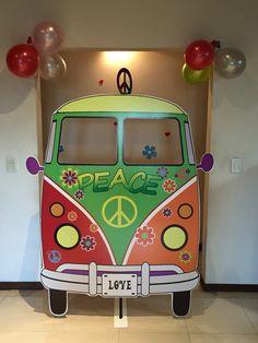 Hippie Party, Hippie Birthday Party, Birthday Party Design, Disco Party, Disco Theme Parties, Music Themed Parties, 1960s Party, Retro Party, 60s Party Themes