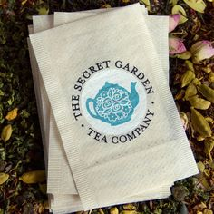 Functionality meets fashion with these ultra-imaginative, multi-functional teabag business cards produced for the Secret Garden Tea Company.