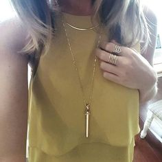 I'm totally crushing over our rebel pendant in gold . Silver and rose gold too www.stelladot.co.uk/moakes #necklaces #fashionaccessories
