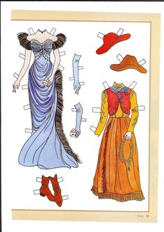 Go West, Young Lady! a paper doll by Teri Wilson (2 of 2)