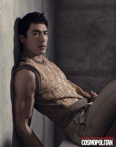 Daniel Henney Cosmopolitan Korea Magazine March 2012