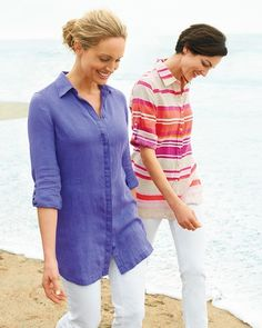 Crisp, cool linen just in time for summer #ColdwaterCreek