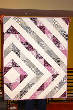 Asymmetrical+-+easy+baby+quilt+patterns