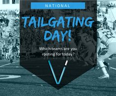 Today is #NationalTailgatingDay! What are your #GameDay plans? #VisionIntegration #Football #FootballSeason
