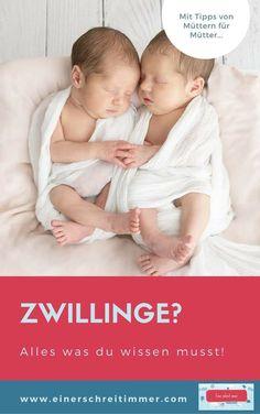 """Du erwartest Zwillinge? Oder bist frisch gebackene Zwillingsmama? Wir haben hier 19 Tipps, die deinen Alltag mit Zwillingen einfacher machen. Gesammelt von der Community von """"Einer schreit immer"""". #zwillinge #zwillingsmama #zwillingsschwangerschaft #einerschreitimmer #mamablog"""