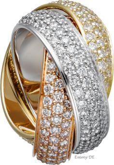 Emmy DE * Trinity de Cartier #ring