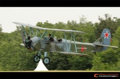 Polikarpov Po-2W - F-AZDB, Meeting de la Ferte-Alais 2011 - Constantimages
