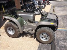 Get the best deal on cheap used 2003 Bombardier Traxter Four Wheeler ATV by Surdyke Yamaha in Osage Beach, MO, USA for just $3499 at AtvJunction.Com