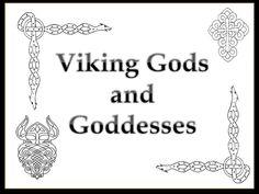 Vikings gods and goddesses - PowerPoint presentation of Viking gods and goddesses with ideas for related activities.