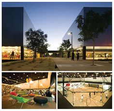 """Palo Verde Library/Maryvale Community Center, Phoenix, Arizona.  One of Library Journal's """"new landmark libraries"""""""
