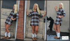 Nothin' says fall like plaid...  and Cassidy is so pretty in this plaid shirt dress...   #ishoptheloft #fashion #nowtrending #style #ootd #mystyle #boutiquelove #trendy #shopsmall #follow