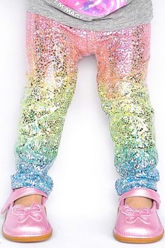 89269ede20ee Baby Girl Clothes and Accessories · Unicorn leggings - Rainbow Glitter  Leggings - baby girl leggings - toddler leggings - kids leggings