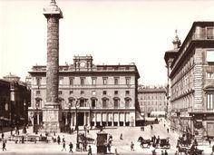 piazza colonna 1890