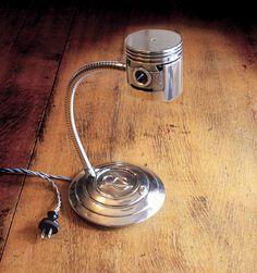 '32 Ford Flat Head Piston Lamp