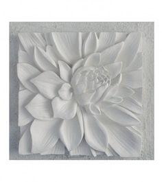 3D Lotus wall art
