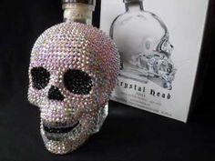 Crystal Head Vodka Skull - Customised with Swarovski Crystals