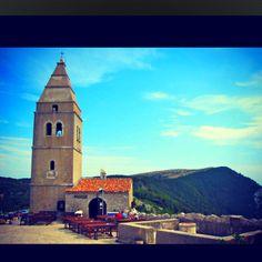 Old church in Lubenice, Croatia