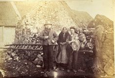 Rare Collection of Galway Photographs from 1879 - The Wild Geese