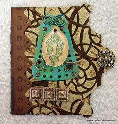 Studio Leftovers Handmade book featuring products by Mod Podge, Spellbinders, and Vintaj.