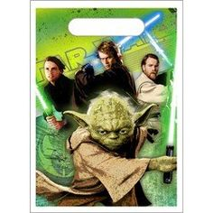 Star Wars Generations Favor Bags 8ct >>> To view further for this item, visit the image link.Note:It is affiliate link to Amazon.