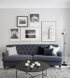 We Found the Scandinavian Living Room Ideas You Were Looking For Home Living Room, Interior Design Living Room, Living Room Decor, Living Spaces, Design Interior, Living Room Inspiration, Home Fashion, Belle Photo, Architecture