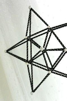 Luukku 12: DIY Tähtihimmeli paperipilleistä - Punatukka ja kaksi karhua Straw Decorations, Christmas Decorations, Xmas, Symbols, Gifts, Diy, Patterns, Crafts, Heaven