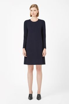 COS | Contrast panel jersey dress