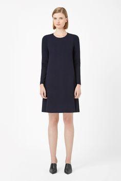 COS | Contrast panel jersey dress