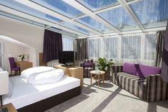 Zimmer - Sternwartesuite mit Panoramaglas