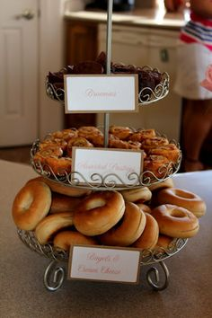 Bridal brunch food ideas.  I'm going to do this for all of us with the mimosa bar included!