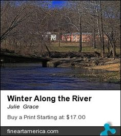 Winter along the Niangua River.