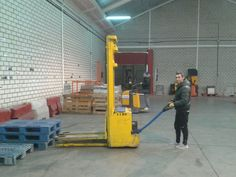 Curso de formación de Apilador en nuestras instalaciones de IFTEM Getafe